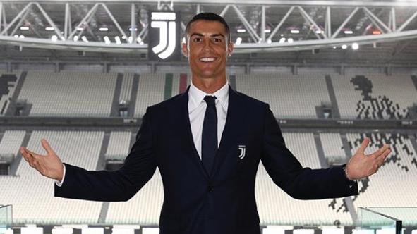 Cristiano Ronaldo presentazione Juve