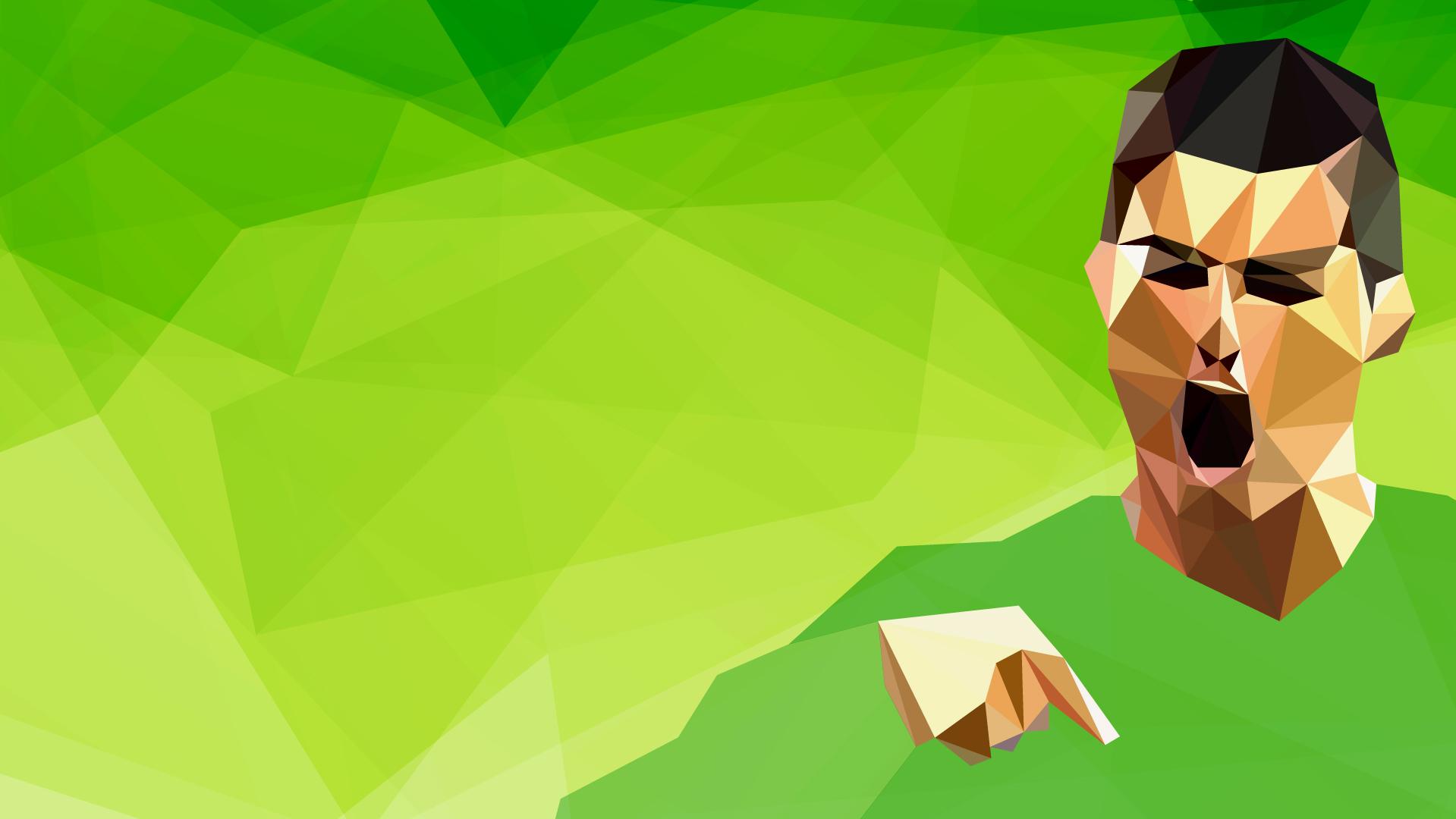 Cristiano Ronaldo Verde