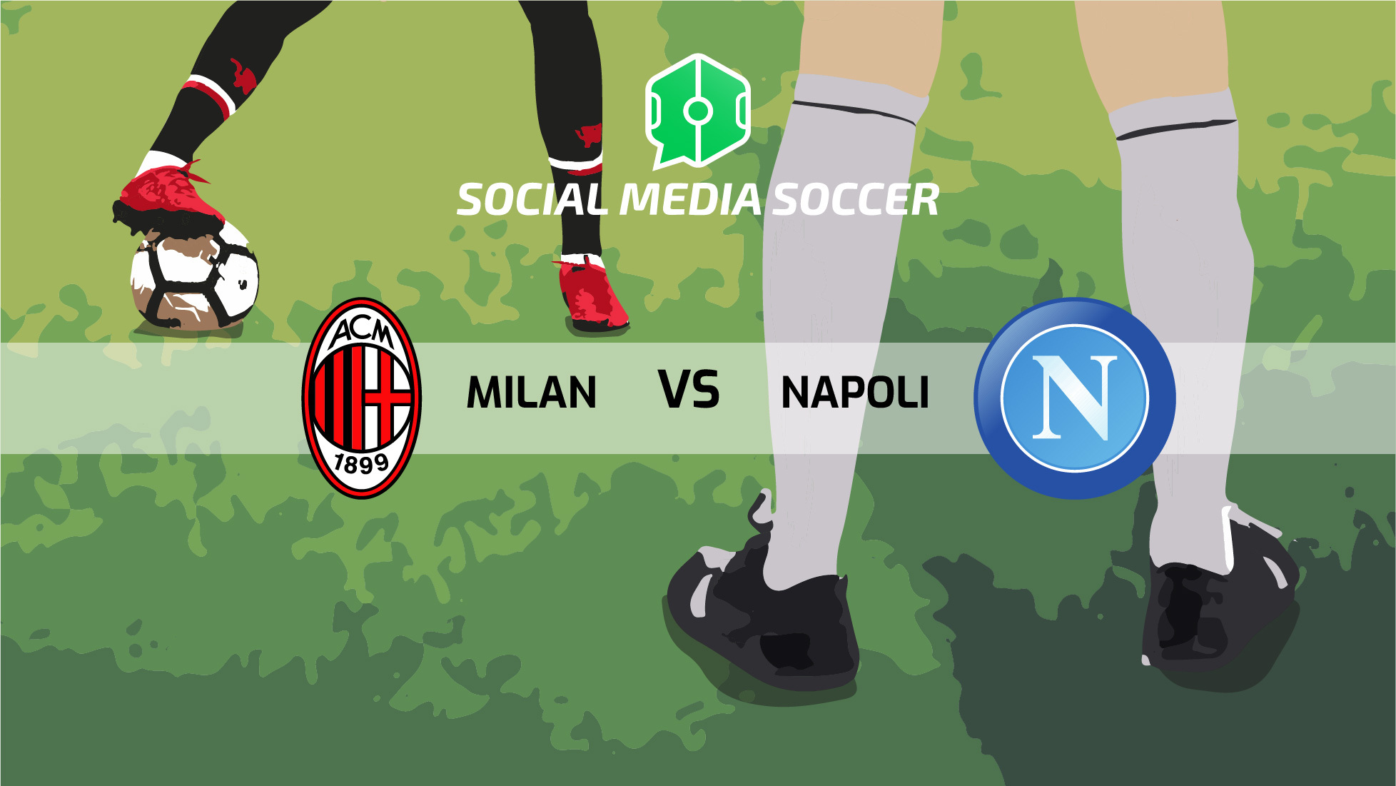 Milan-Napoli Social