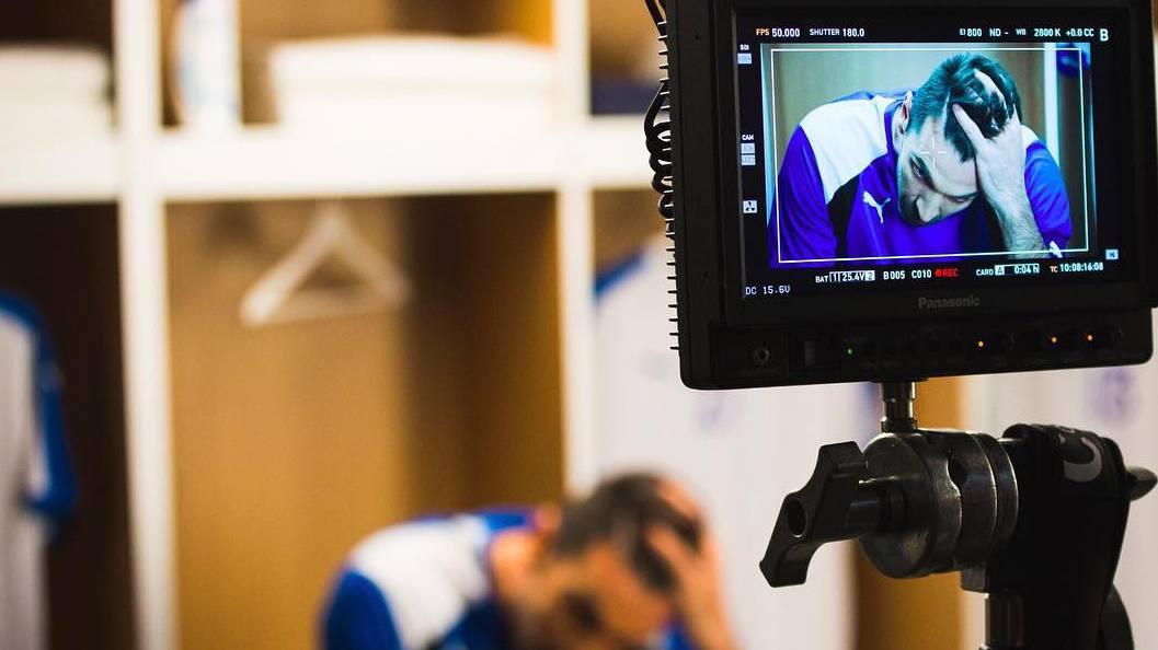 Buffon ripreso spot Head&Shoulders