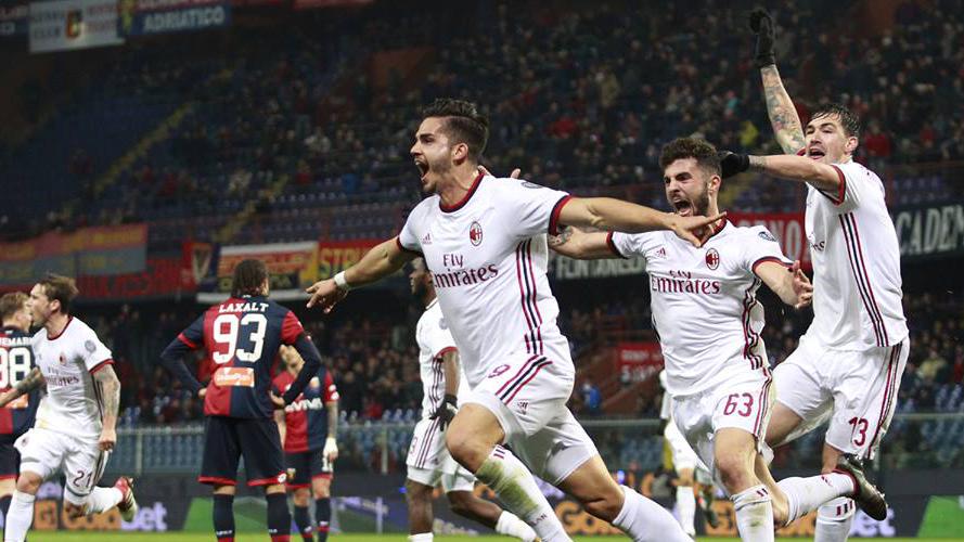 Andre Silva vs Genoa