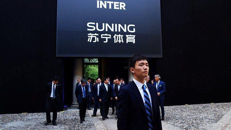 Suning Inter Steven Zhang