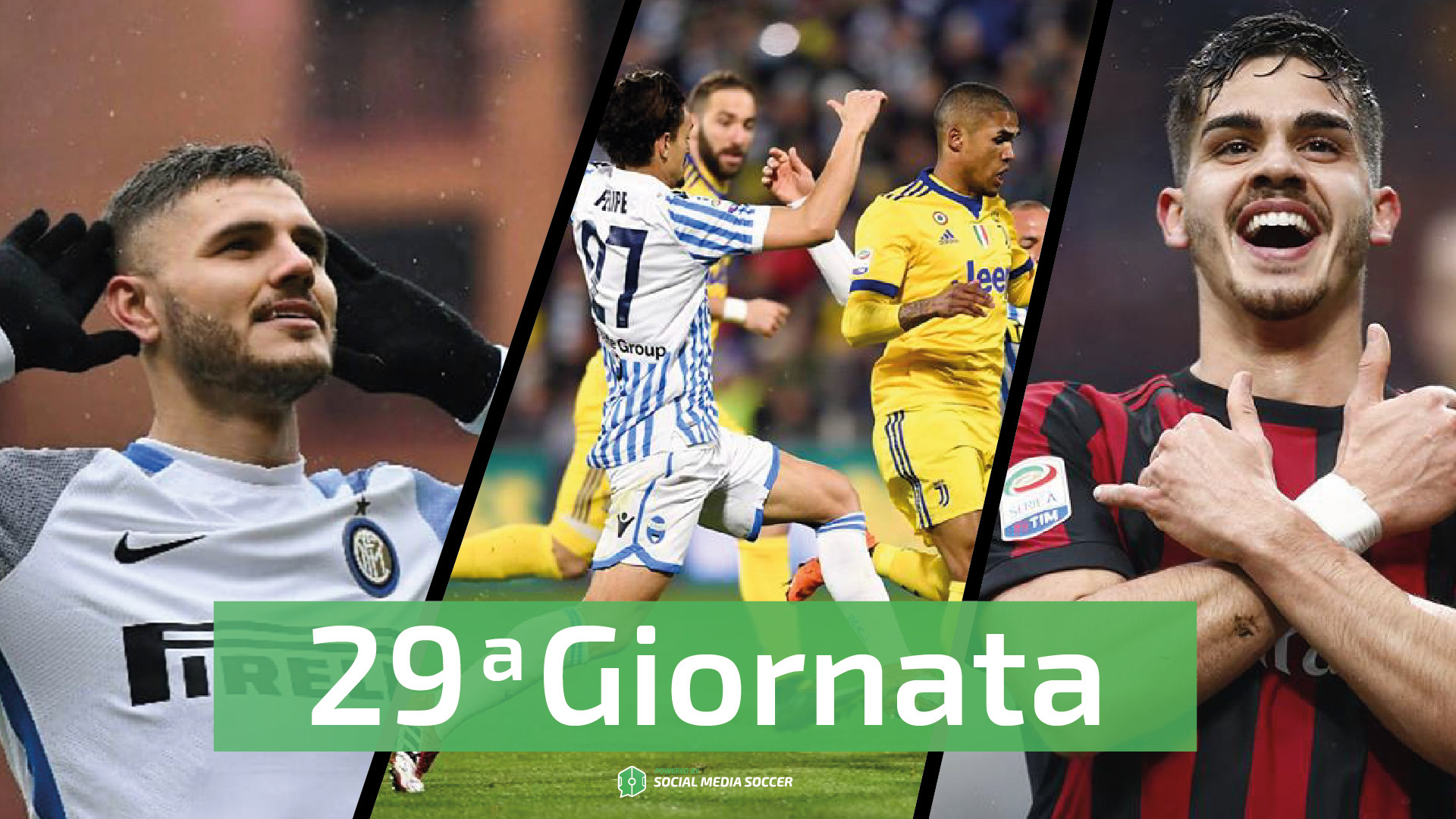 Serie A 29esima giornata Social
