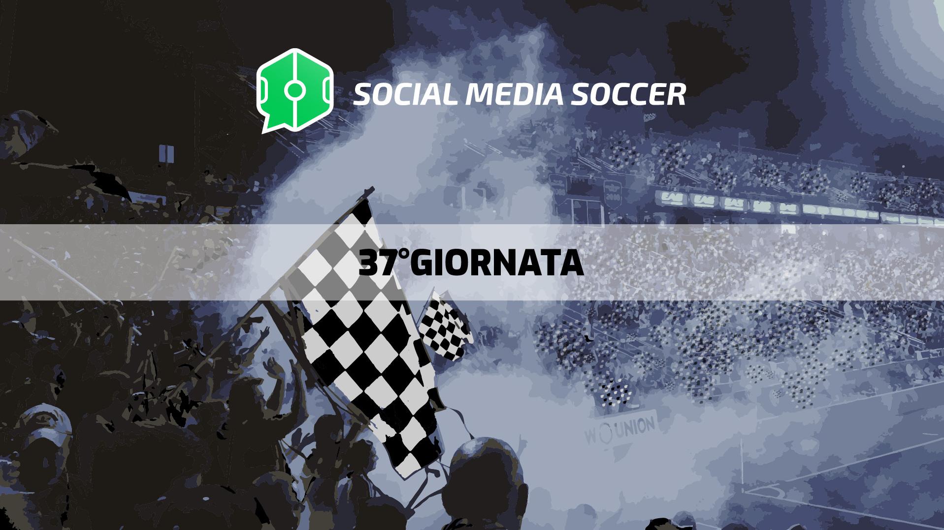 Social 37esima giornata Serie A