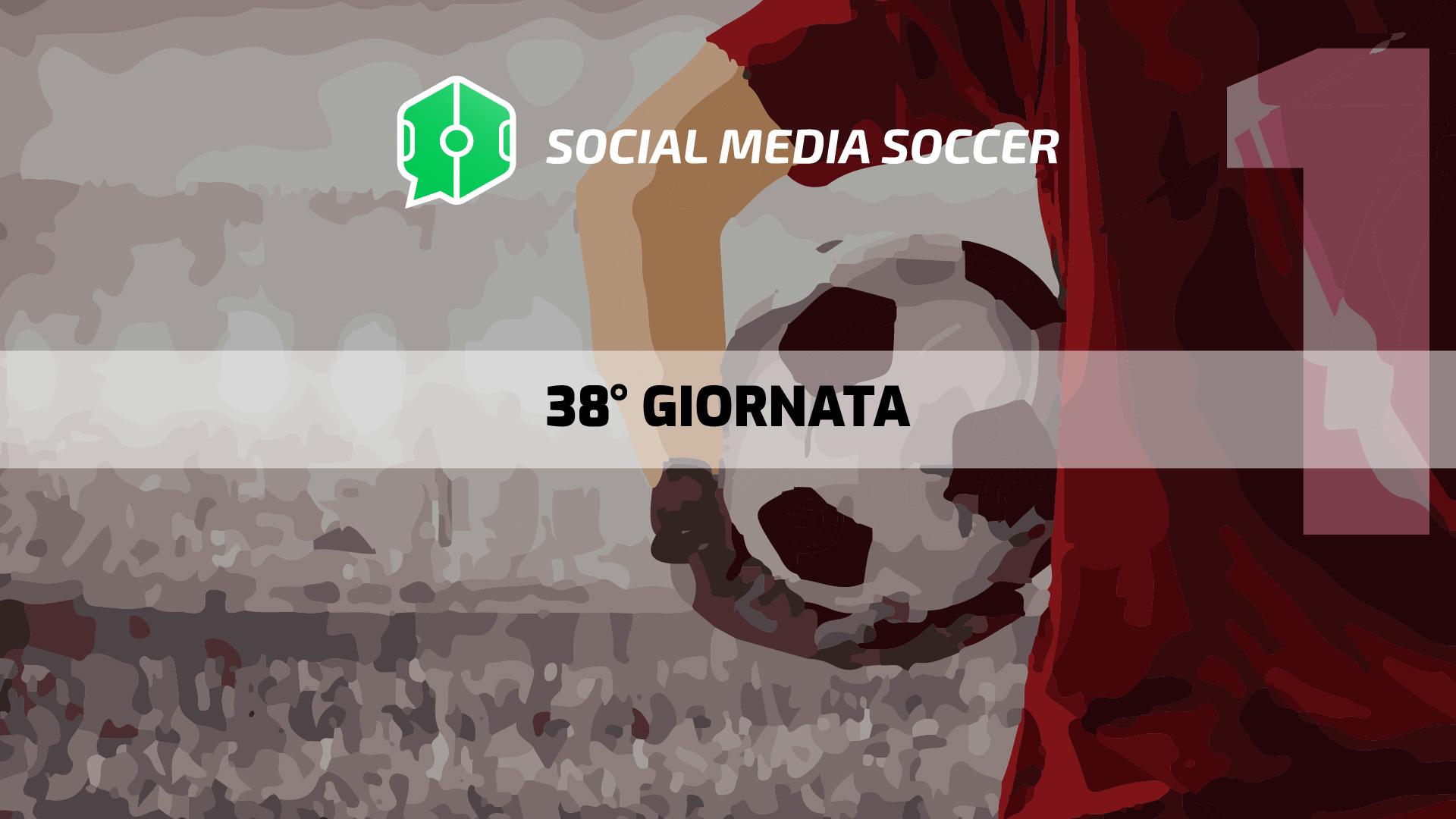 Social 38esima giornata Serie A 2017/18