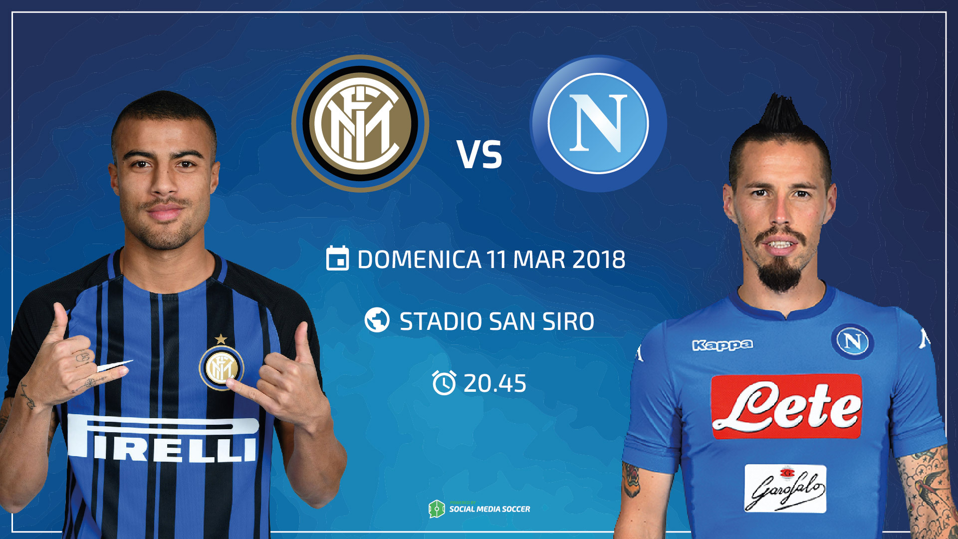 Inter-Napoli Cover
