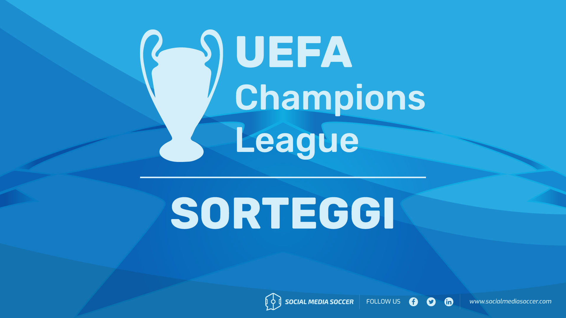 Guida social ai gironi di Champions League 2018/19