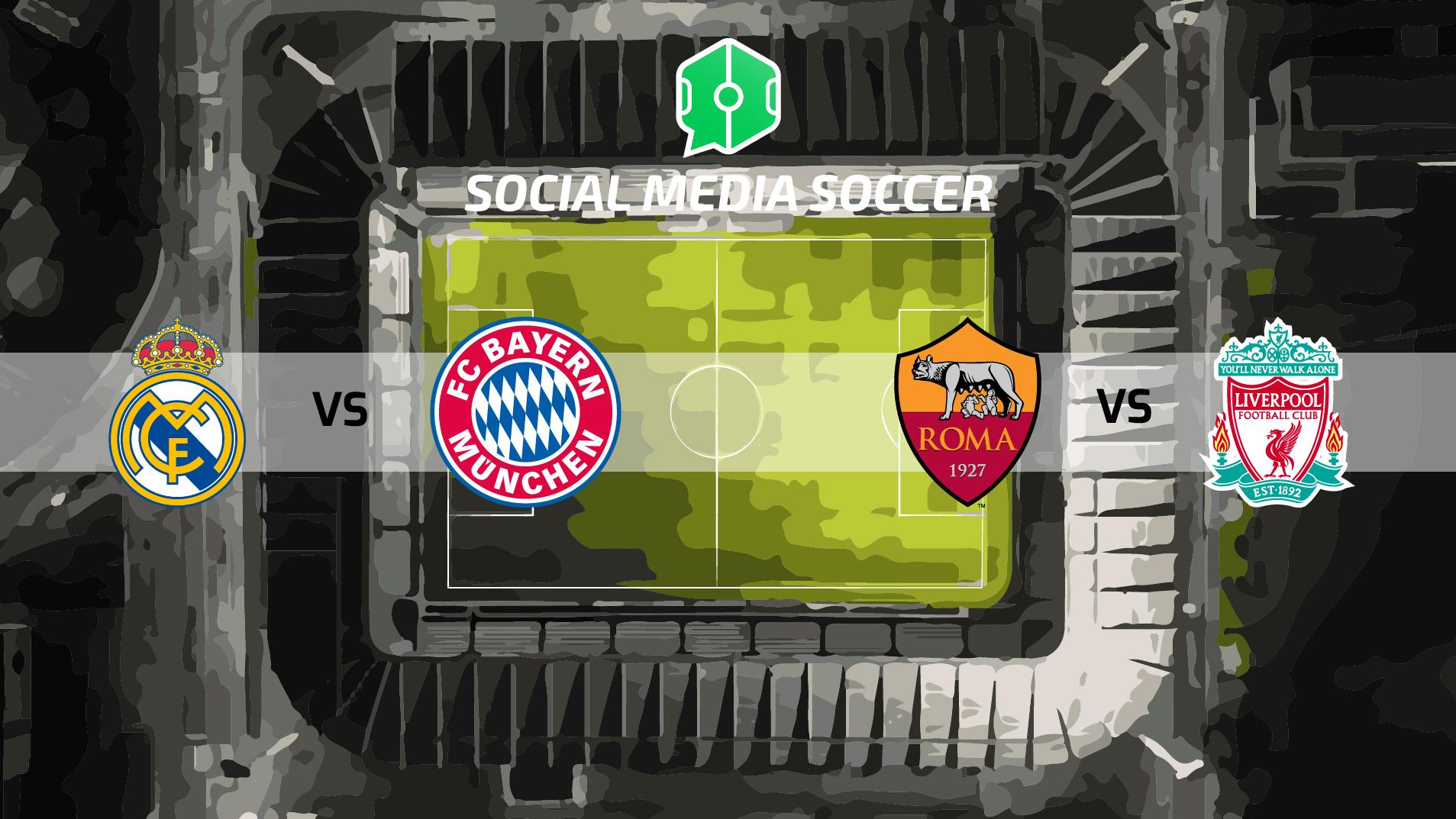 Champions League Semifinali Ritorno Social