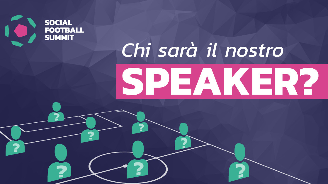 Speaker Social Football Summit 2018