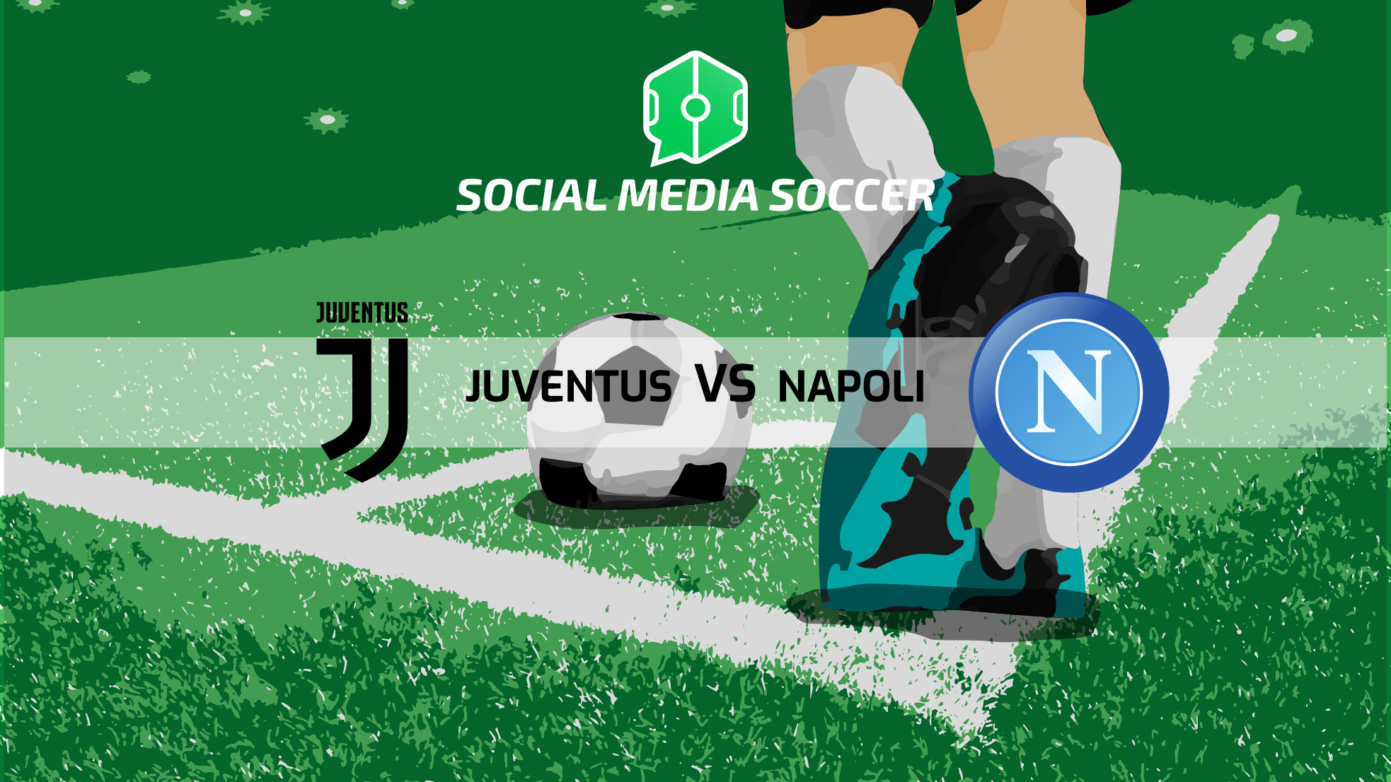 Copertina Juventus - Napoli