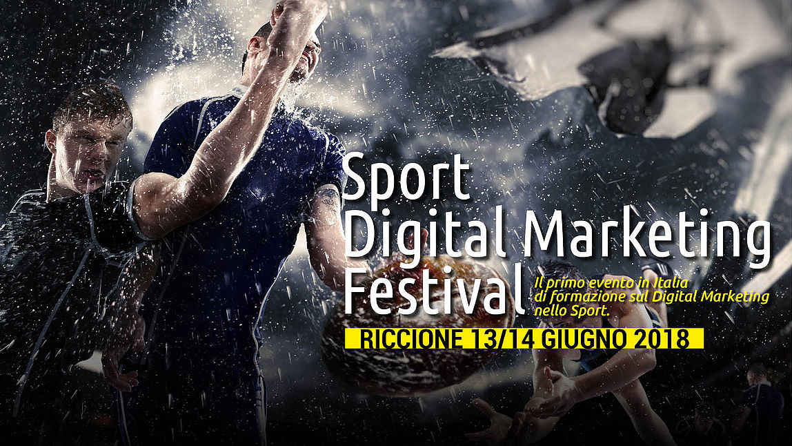 Locandina Sport Digital Marketingm Festival