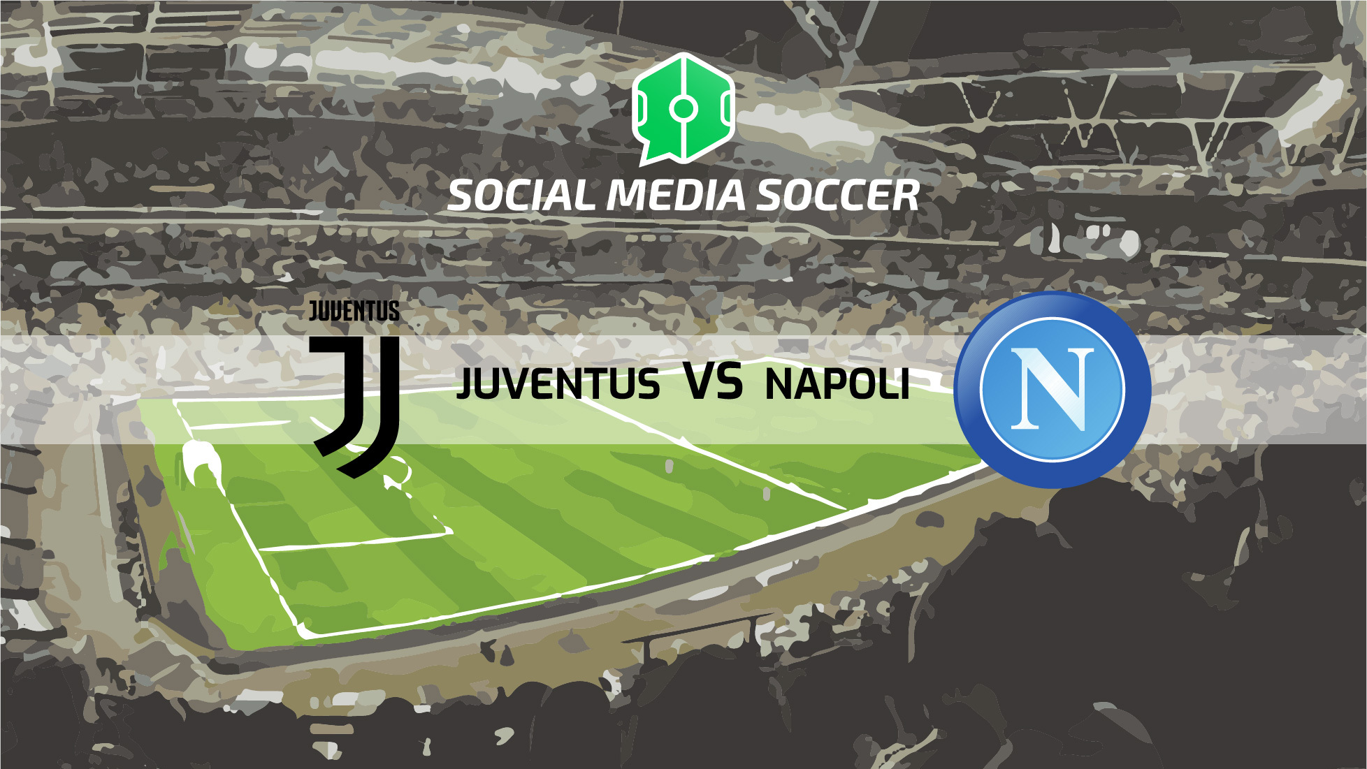 Juventus-Napoli Social