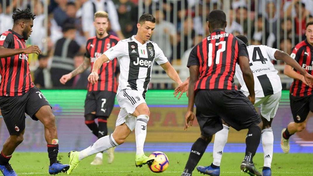 Cristiano Ronaldo vs Kessie