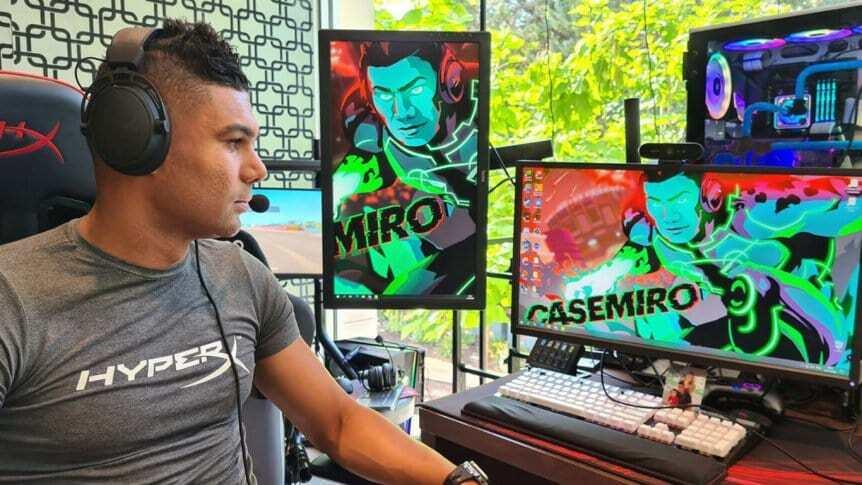 Casemiro entra negli eSports