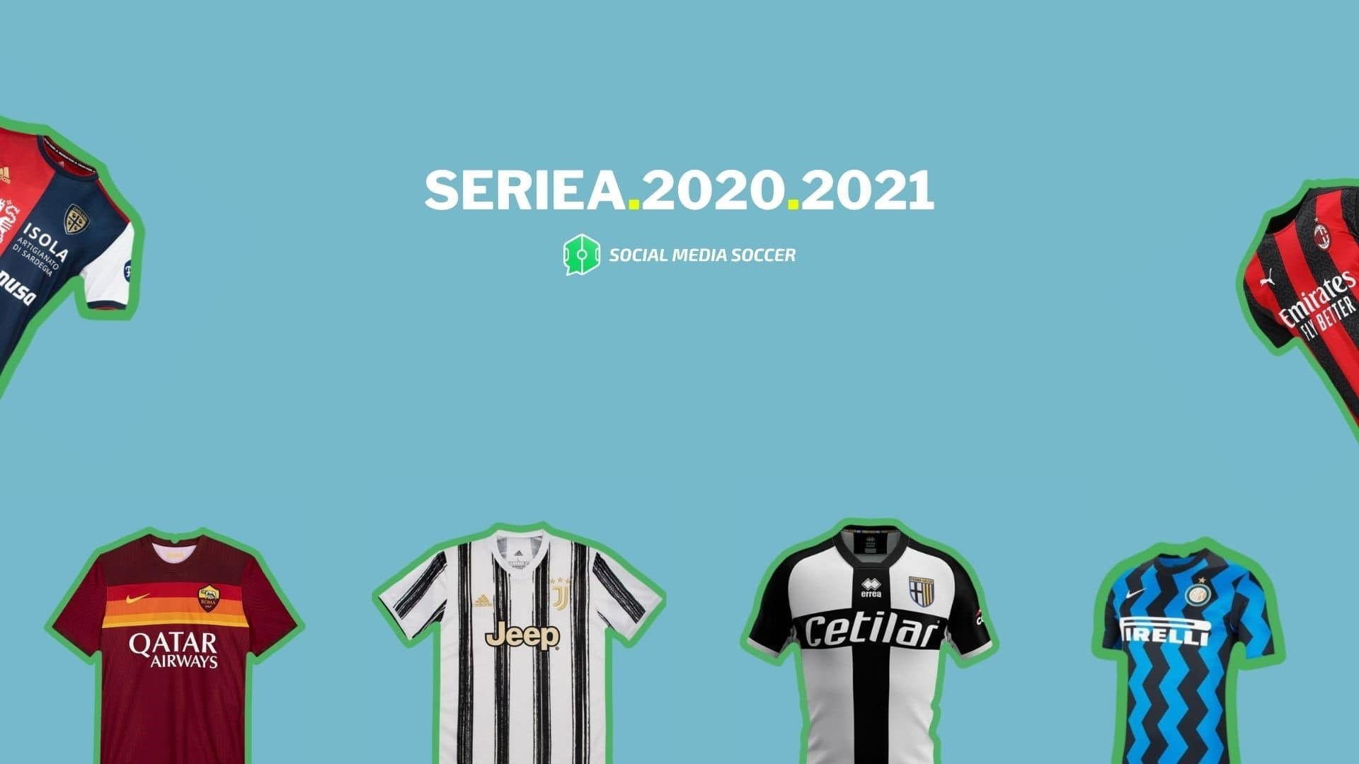 Maglie Serie A 2020-21