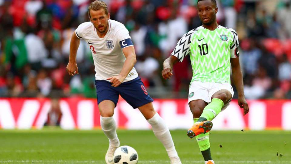 Inghilterra-Nigeria amichevole 2018