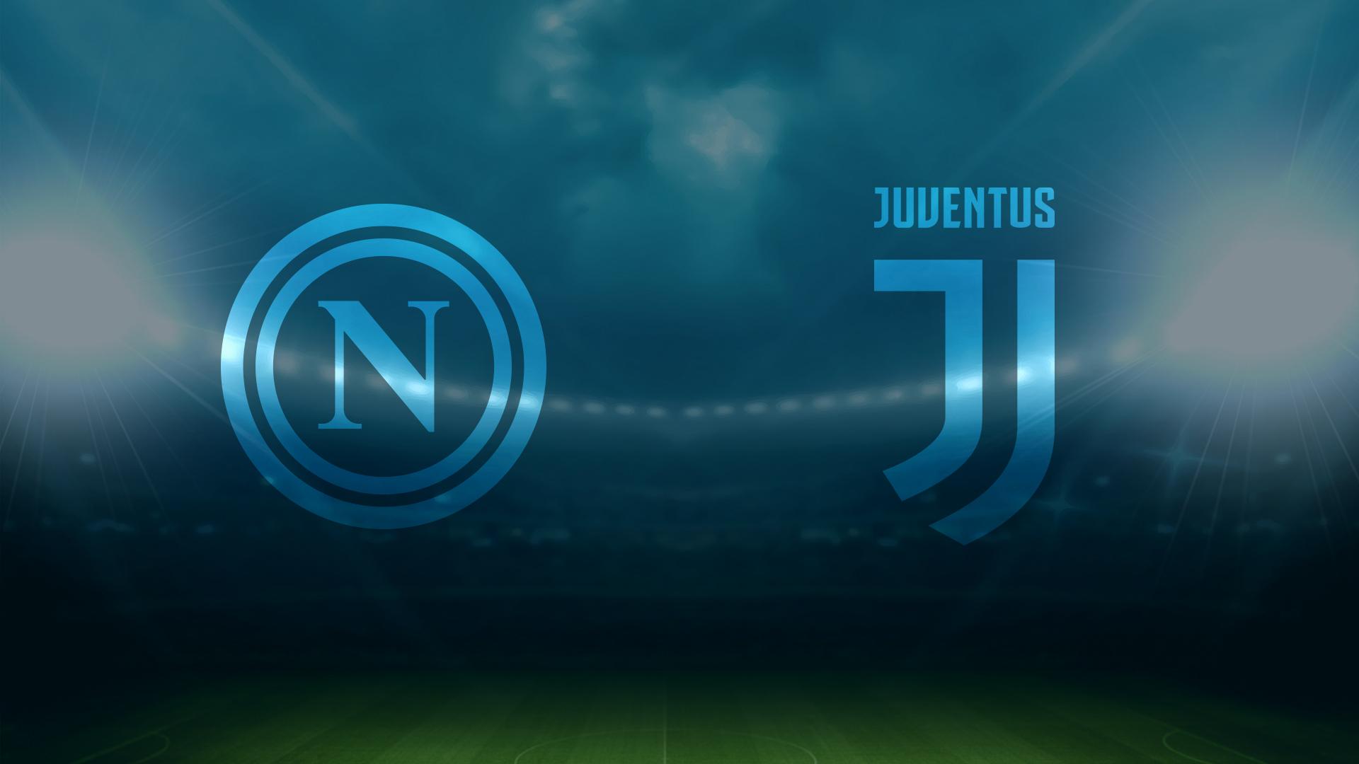 Napoli-Juventus sui social