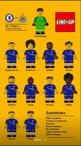 Chelsea Lego XI
