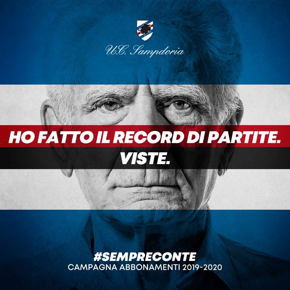 Sampdoria abbonamenti 2019/2020